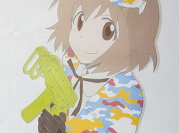 New Anime About Moe Girls & Airsoft Guns