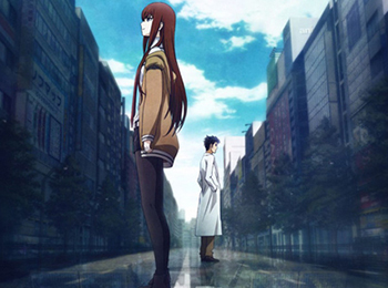 New Steins;Gate Movie and Blu-Ray DVD Art