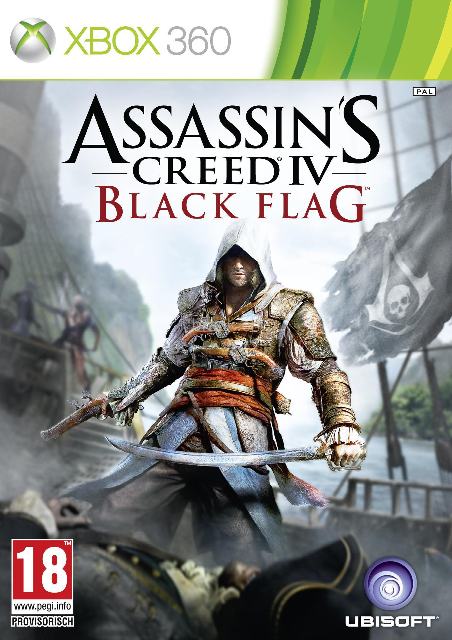 Assassins Creed IV Black Flag Announced 360 Cover