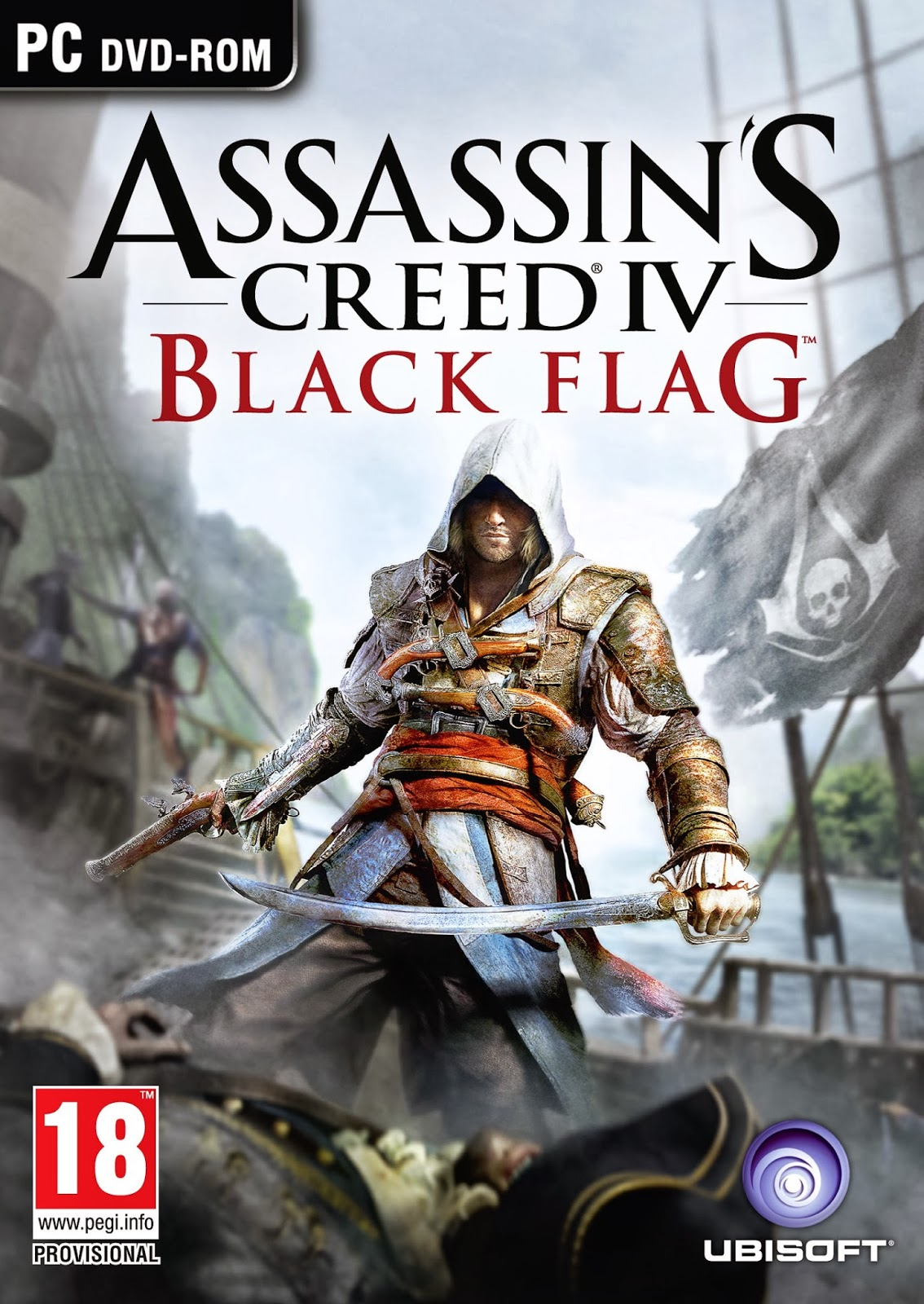 Assassins Creed IV Black Flag Announced PC Cover