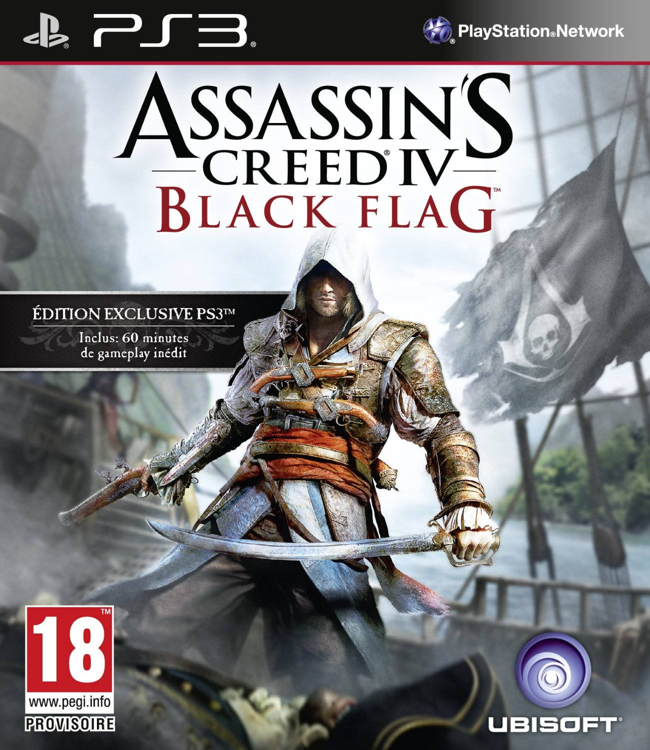 Assassins Creed IV Black Flag Announced PS3 Cover