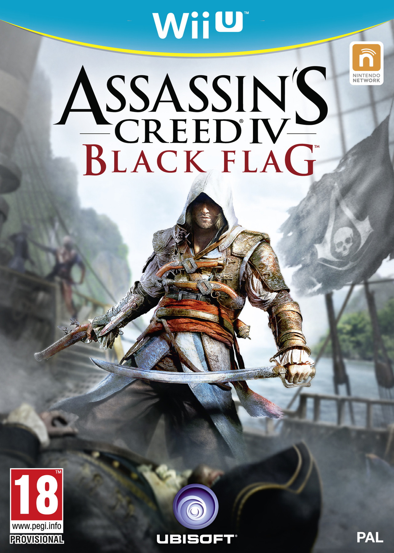 Assassins Creed IV Black Flag Announced Wii U Cover