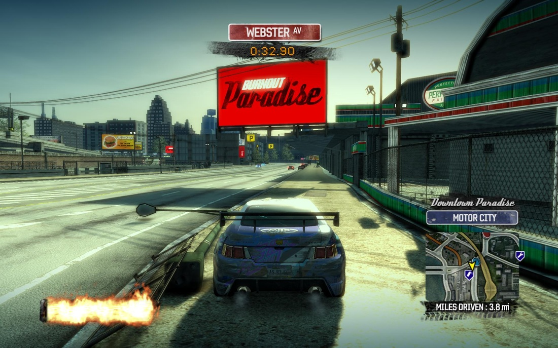 Burnout Paradise Review Screen 3