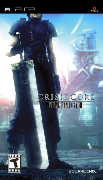 Final Fantasy VII Crisis Core Review - PlayStation Portable Box Art