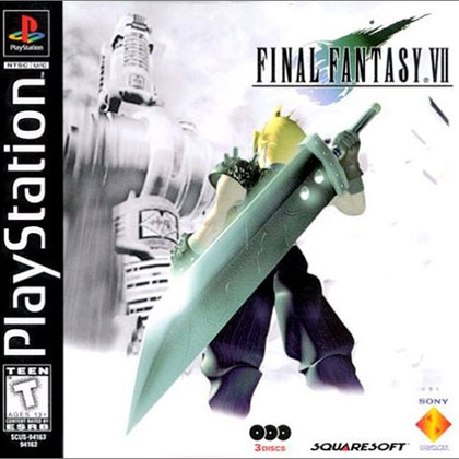 Final Fantasy VII Review - PlayStation Portable Box Art