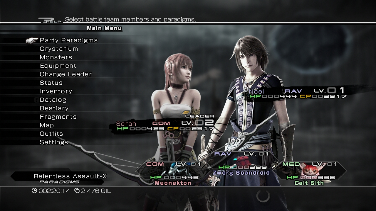 Final Fantasy XIII-2 Review Screen 13