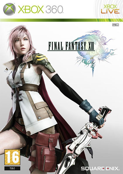 Final Fantasy XIII Review - Xbox 360 Box Art