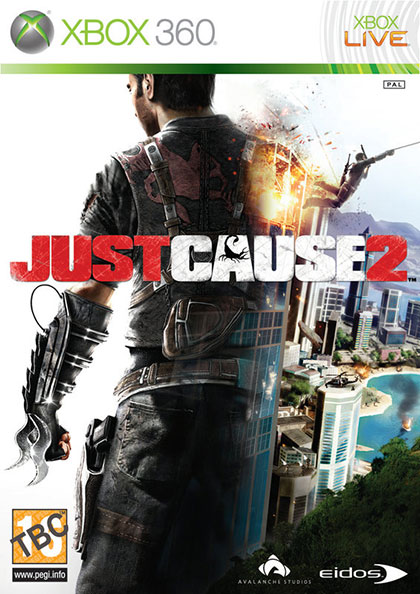 Just Cause 2 Review - Xbox 360 Box Art