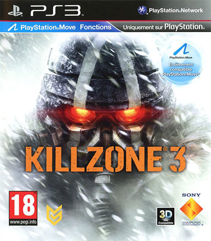 Killzone 3 Review - PlayStation 3 Box Art