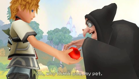 Kingdom Hearts Birth by Sleep Review Screens 7