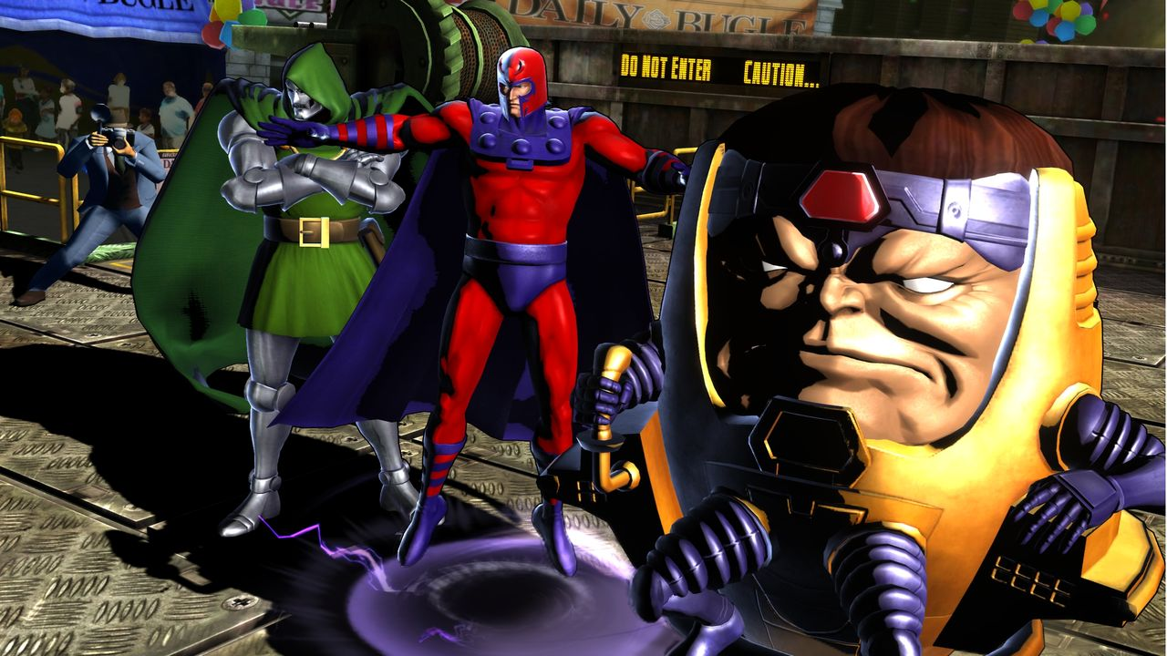Marvel vs. Capcom 3 Fate of Two Worlds Review Screen 3
