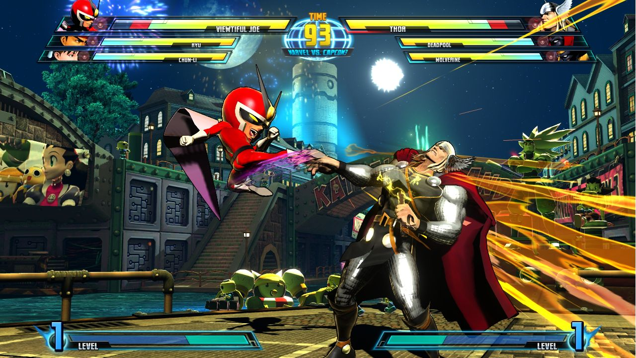 Marvel vs. Capcom 3 Fate of Two Worlds Review Screen 4