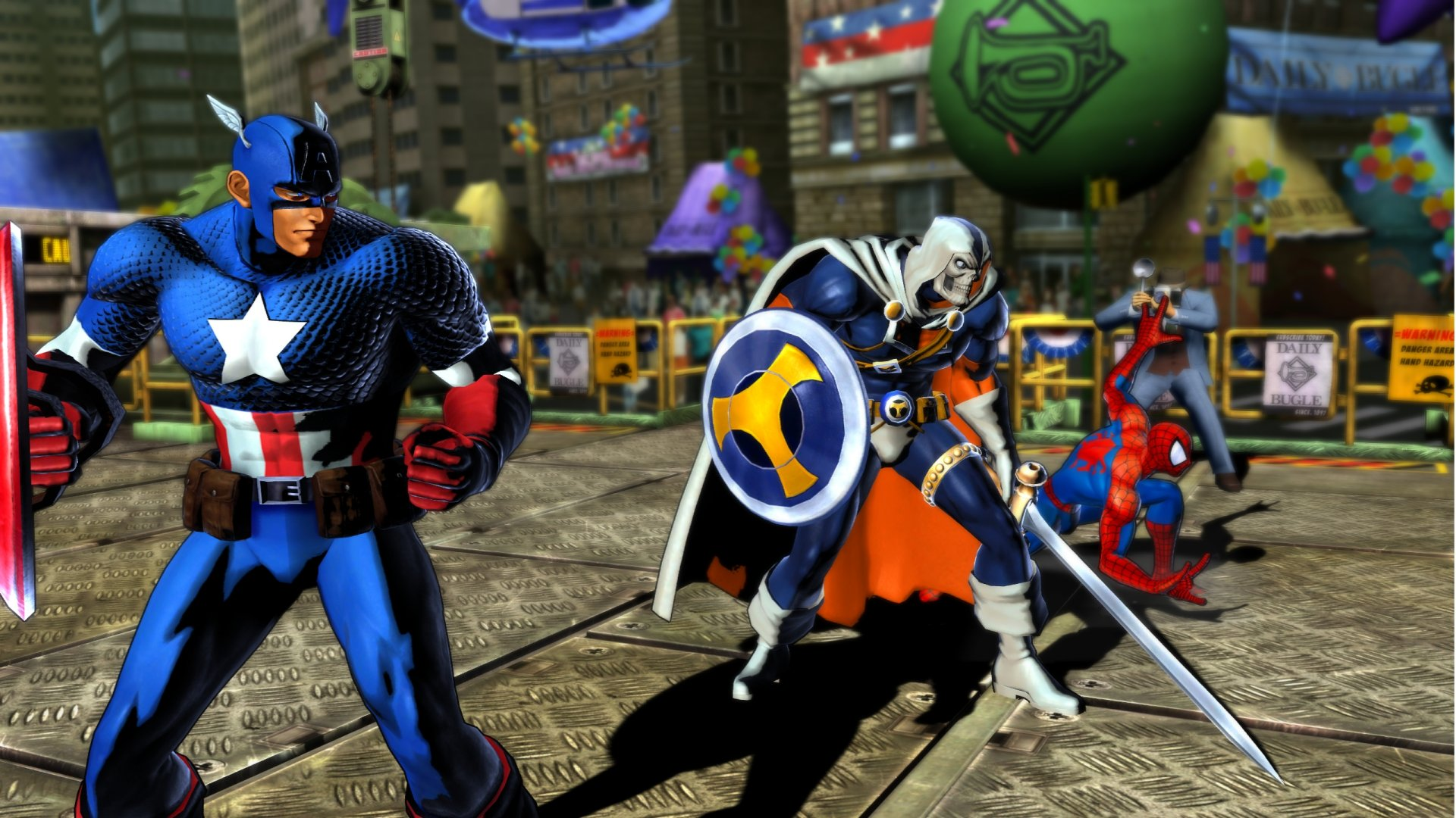 Marvel vs. Capcom 3 Fate of Two Worlds Review Screen 5