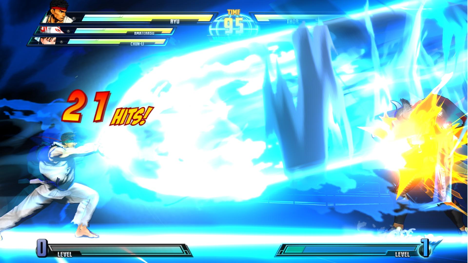 Marvel vs. Capcom 3 Fate of Two Worlds Review Screen 6