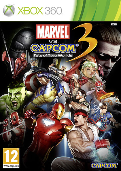 Marvel vs. Capcom 3 Fate of Two Worlds Review - Xbox 360 Box Art