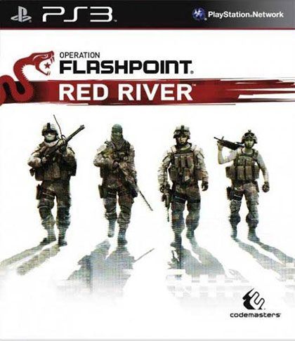 Operation Flashpoint Red River Review - PlayStation 3 Box Art