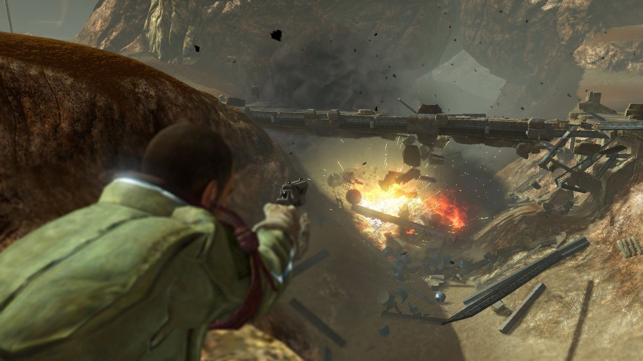 Red Faction Guerrila Review Screen 2