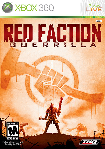 Red Faction Guerrila Review - Xbox 360 Box Art