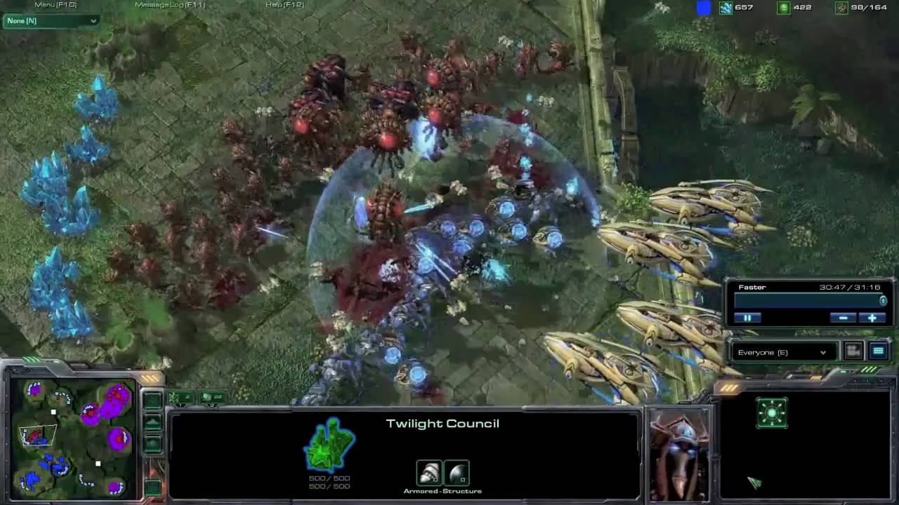StarCraft II Wings of Liberty Review Screen 3