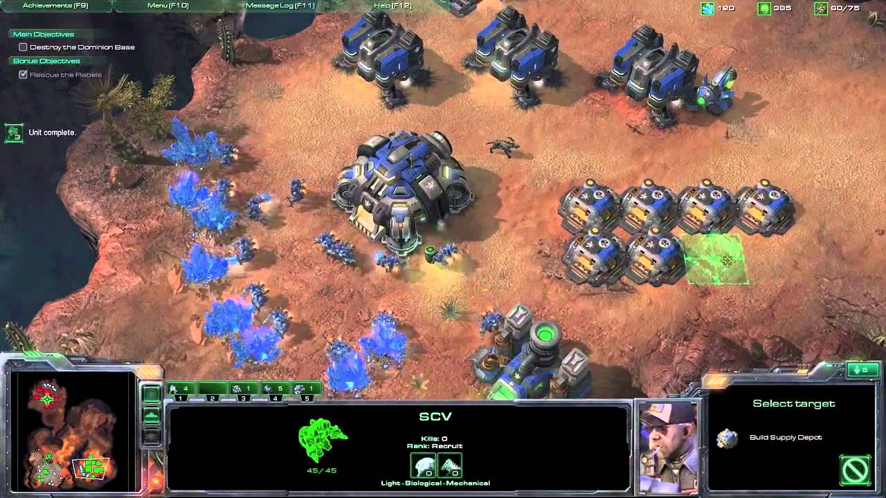 StarCraft II Wings of Liberty Review Screen 5