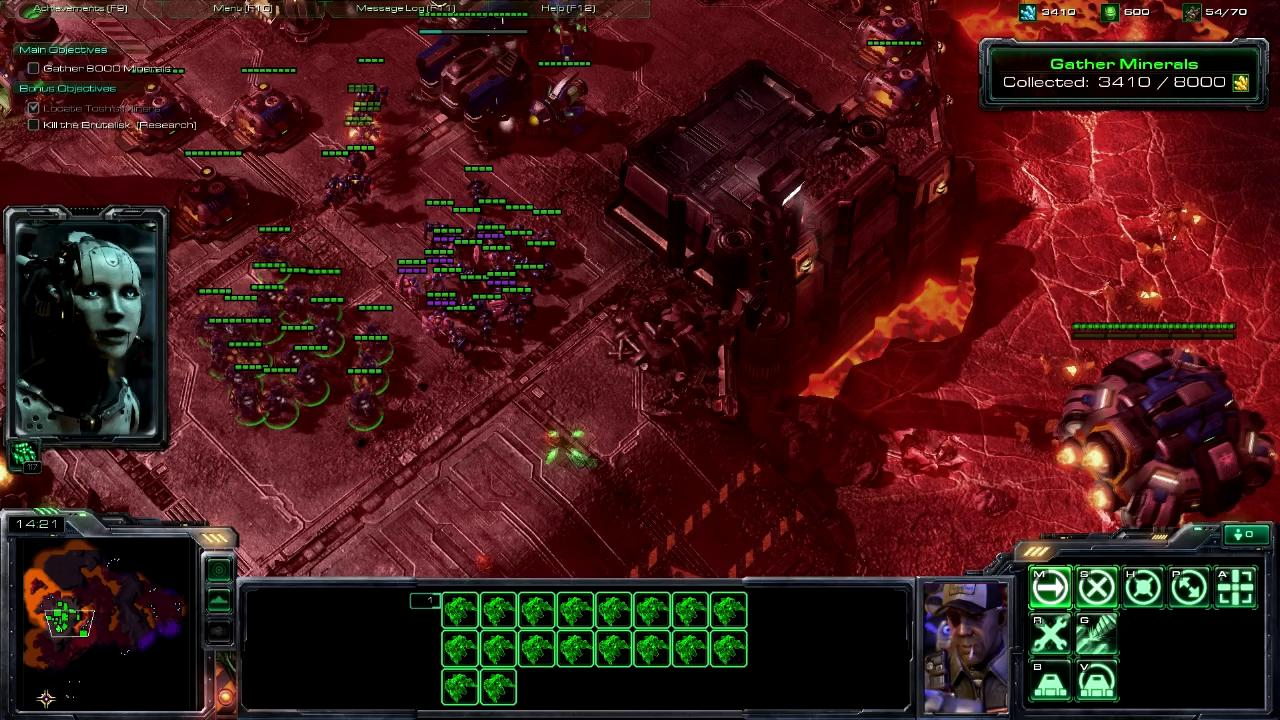 StarCraft II Wings of Liberty Review Screen 6