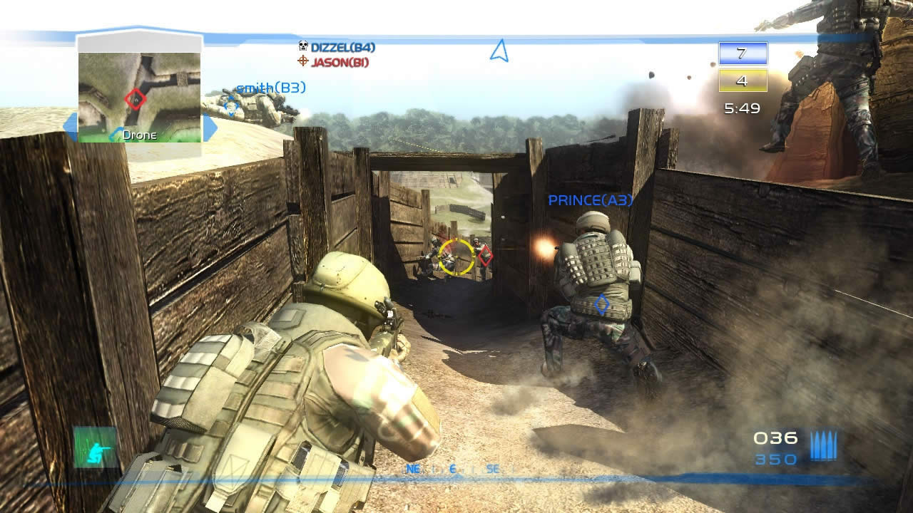 Tom Clancys Ghost Recon Advanced Warfighter 2 Review Screen 1