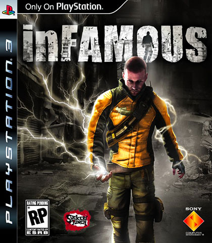 inFAMOUS Review - PlayStation 3 Box Art