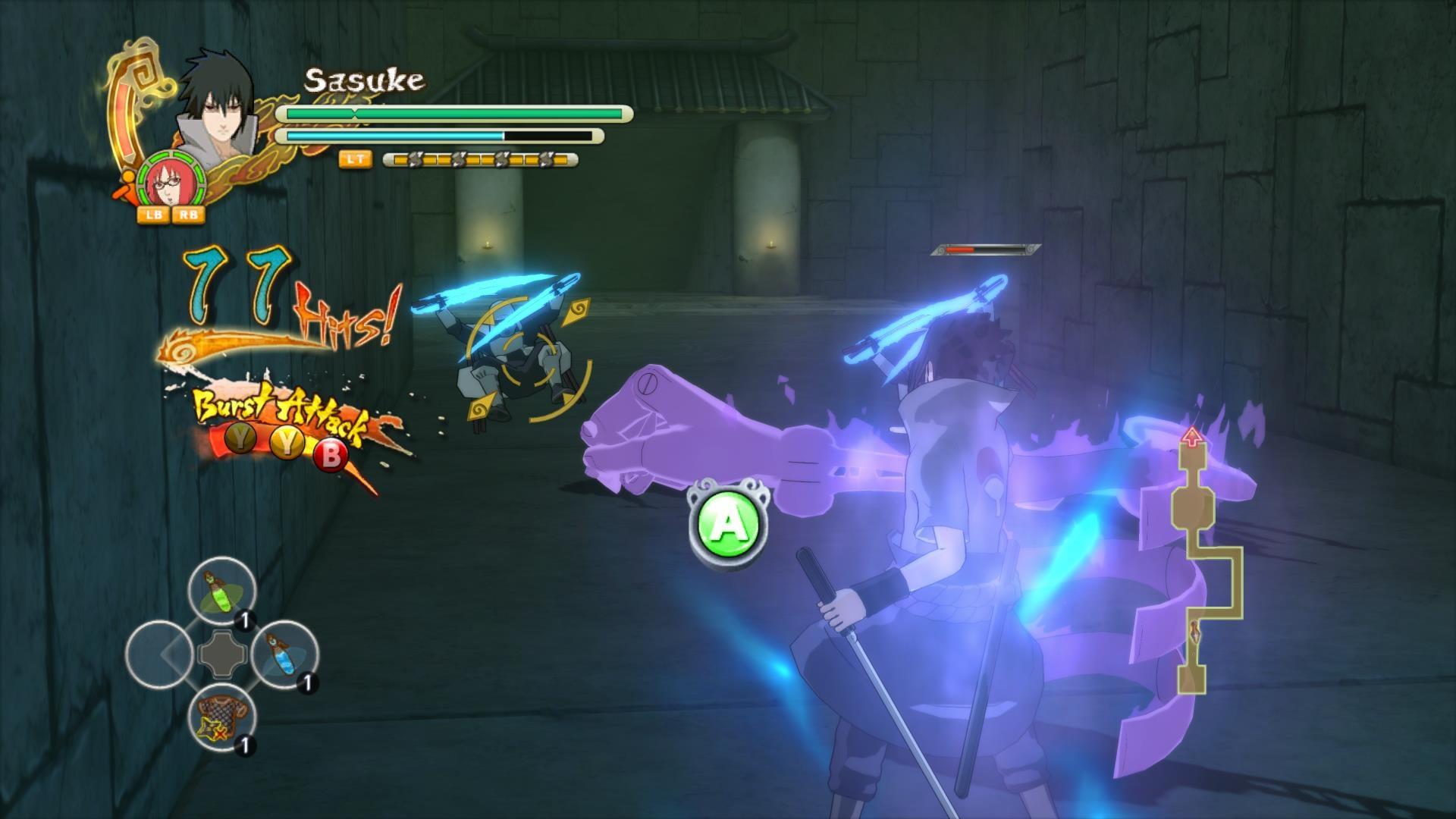 how to play naruto shippuden ultimate ninja storm 3 online