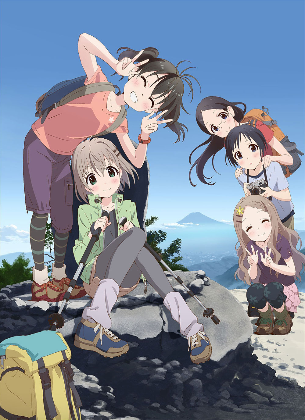 Yama no Susume Season 2 Visual 01
