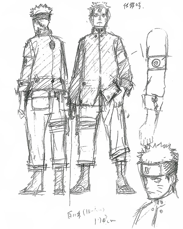 Character Design Naruto The Last : The last naruto movie character designs visual