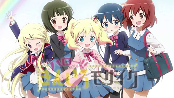 Hello!! Kiniro Mosaic - Promotional Video + Staff Announced