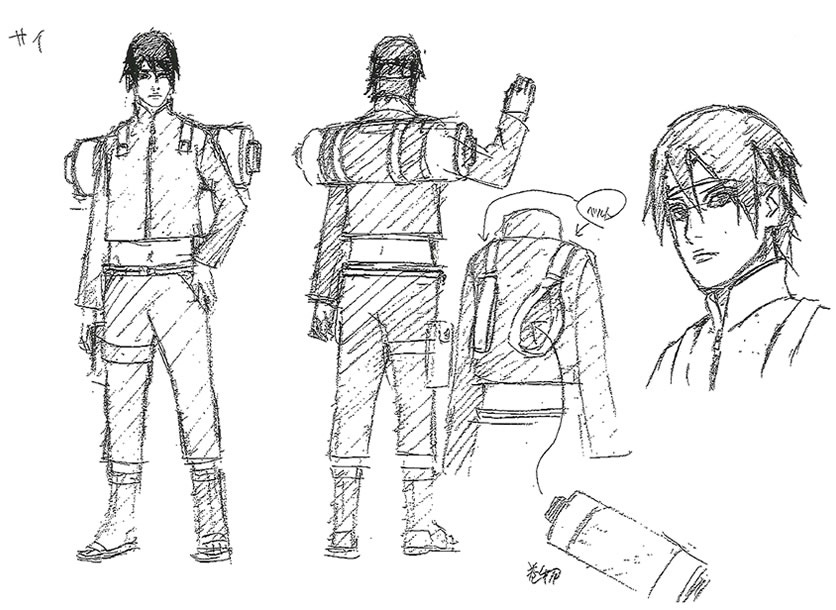 Character Design Documentary : The last naruto movie updated visuals character