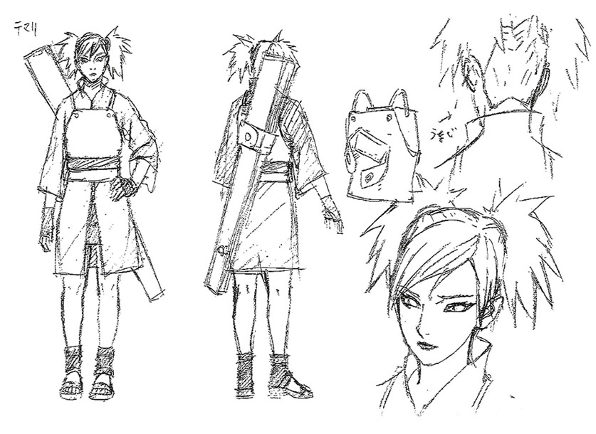 Character Design Naruto The Last : The last naruto movie updated visuals character
