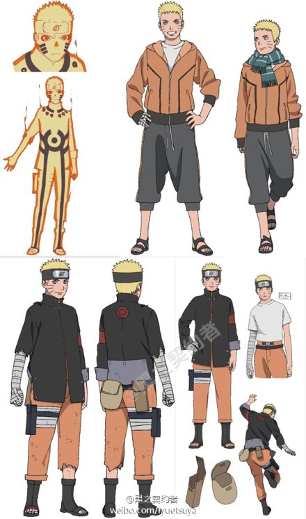 Character Design Naruto The Last : The last naruto movie character designs leak reveals