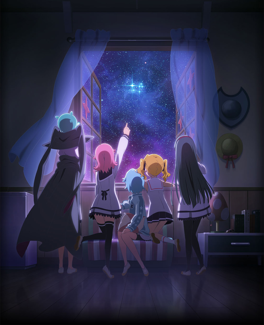 Houkago-no-Pleiades-TV-Anime-Visual