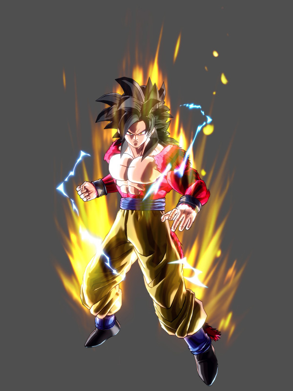 Dragon-Ball-Xenoverse-Super-Saiyan-4-Goku-Model