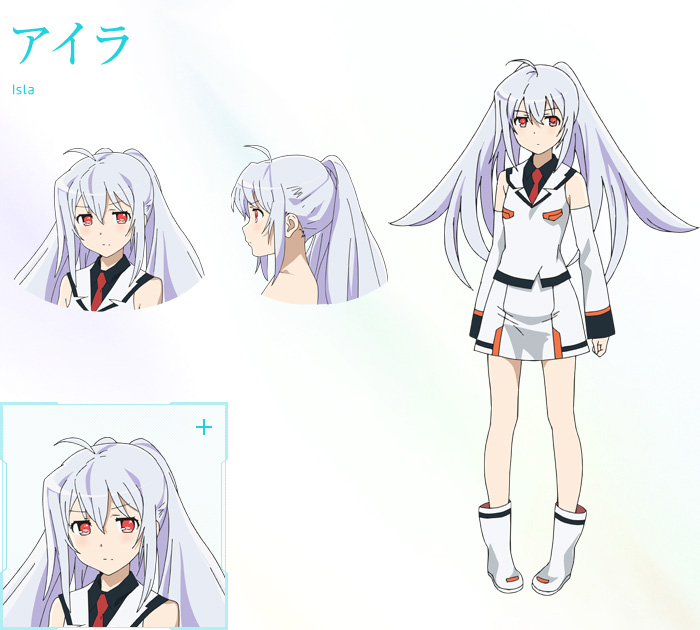 Anime Character Design Tropes : Plastic memories anime airs april cast announced otaku