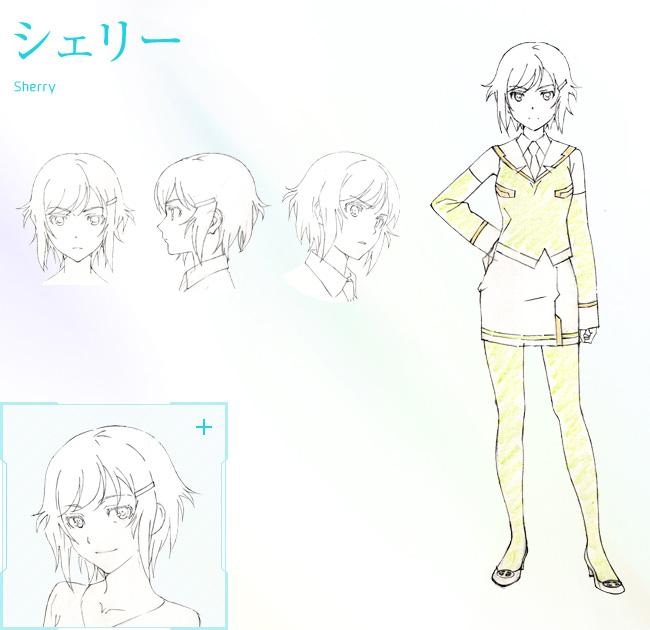 Plastic-Memories-Anime-Character-Design-Sherry