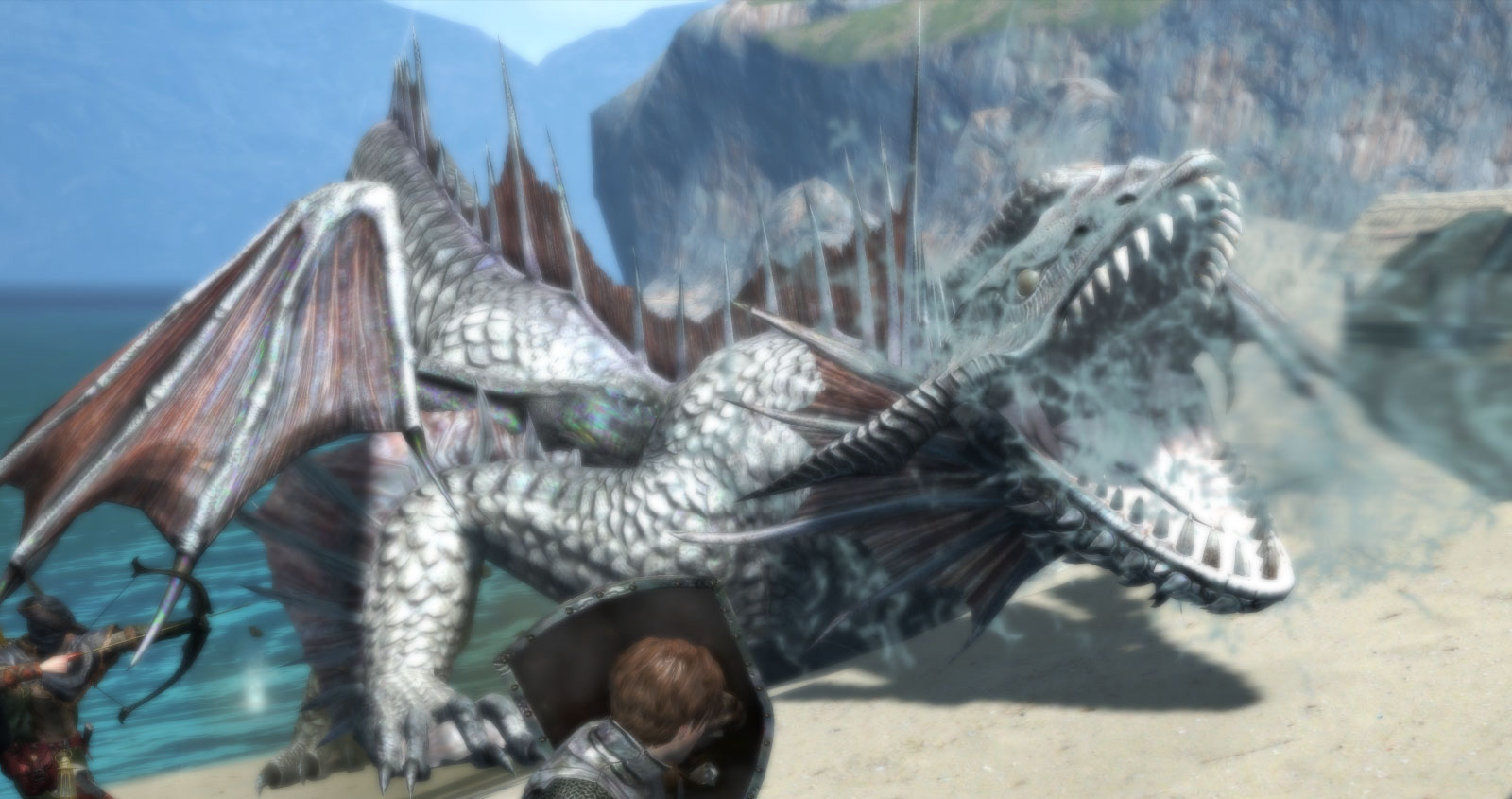 Dragons-Dogma-Online-Monster-Lindwurn-Screenshot-1