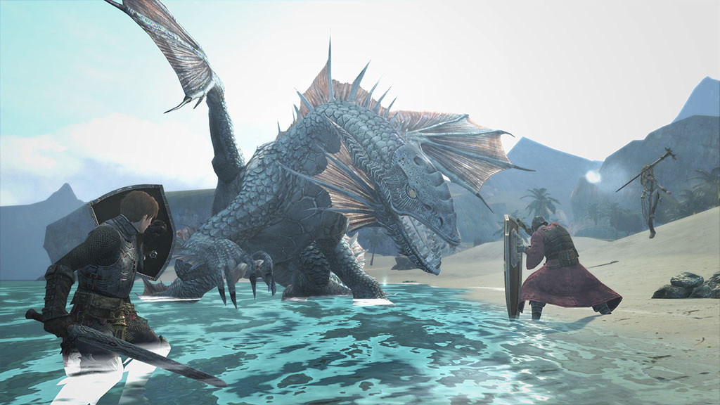 Dragons-Dogma-Online-Monster-Lindwurn-Screenshot-2