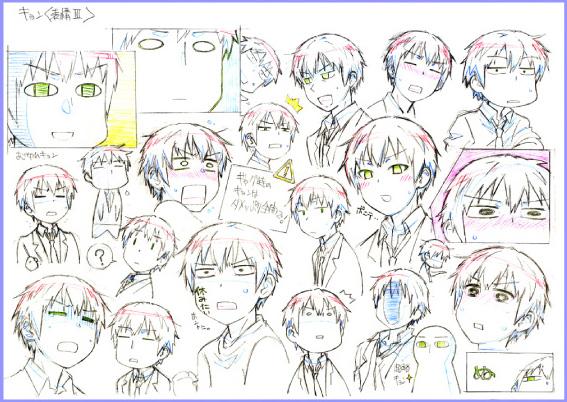 Character Design Anime Studio Story : New disappearance of nagato yuki chan anime visual reveals
