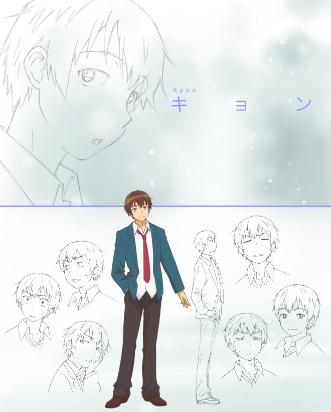The-Disappearance-of-Nagato-Yuki-Chan-Anime-Character-Design-v2-Kyon