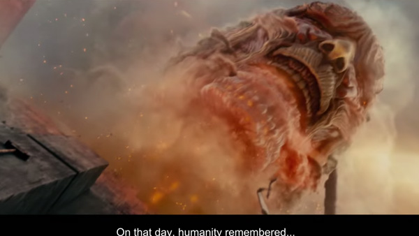 Attack on Titan Live-Action Movie – English Subtitled Trailer