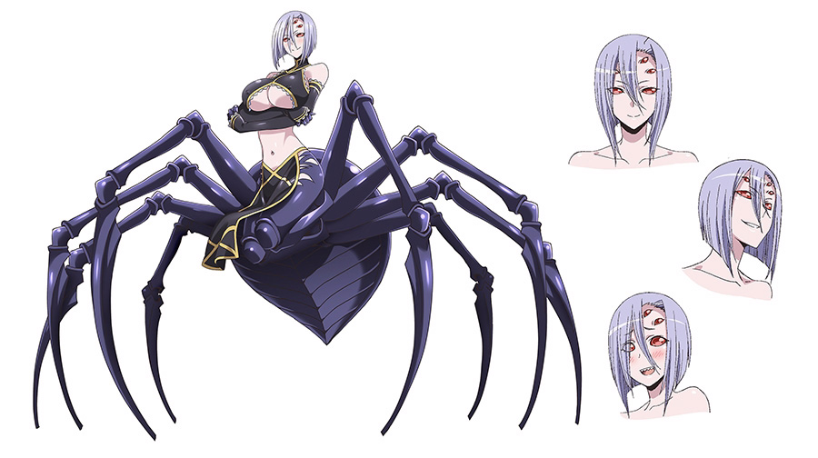 Monster-Musume-Anime-Character-Designs-Rachnera-Arachnera