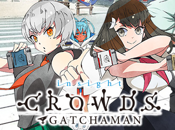 New-Gatchaman-Crowds-Insight-Visual-Revealed-+-Season-1-Blu-ray-Trailer-Released