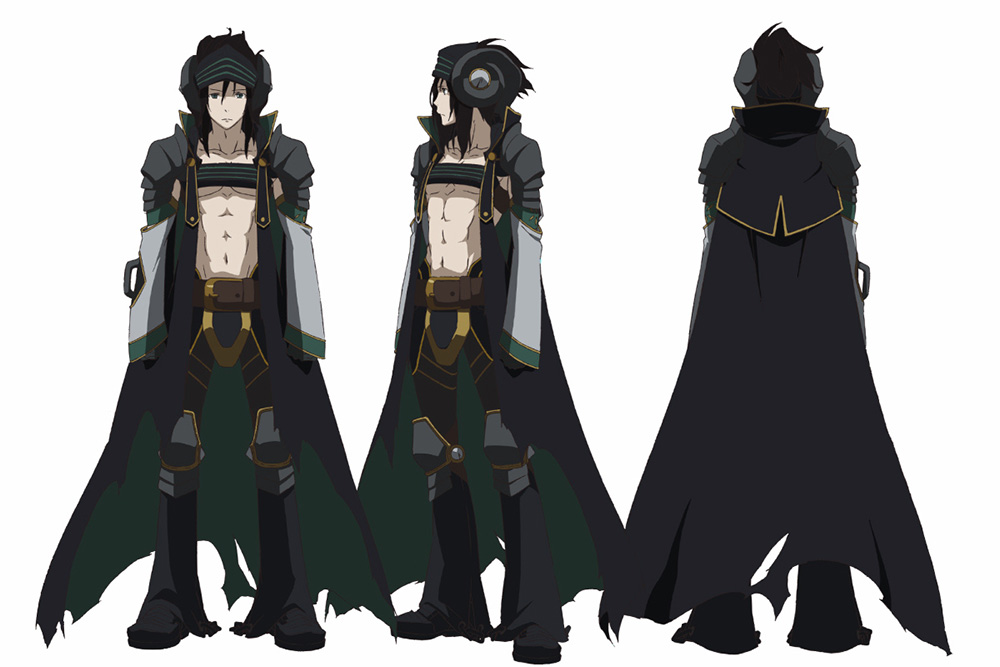 Coolest Anime Character Design : Rokka no yuusha anime character designs revealed otaku tale