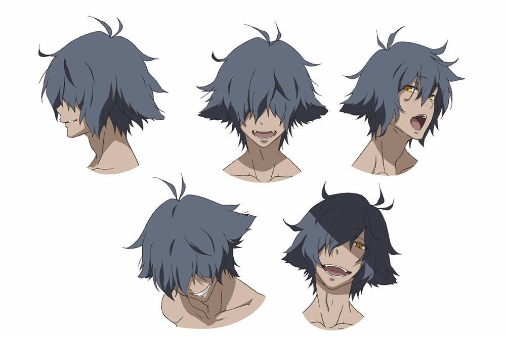 Anime Character 2 : Rokka no yuusha anime character designs revealed otaku tale