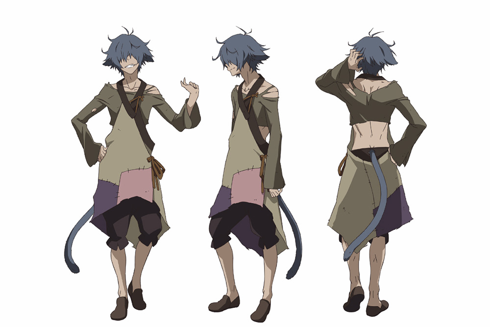 Character Design For Anime : Rokka no yuusha anime character designs revealed otaku tale