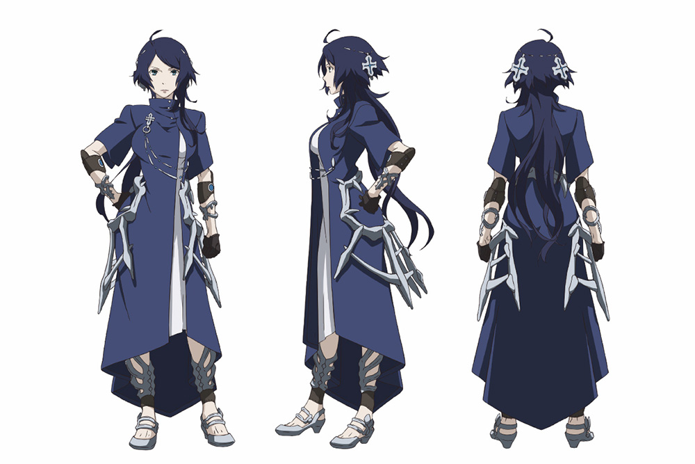 The Character Design : Rokka no yuusha anime character designs revealed otaku tale