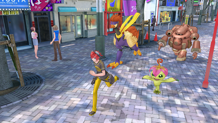 Digimon Story Cyber Sleuth Screenshot 15